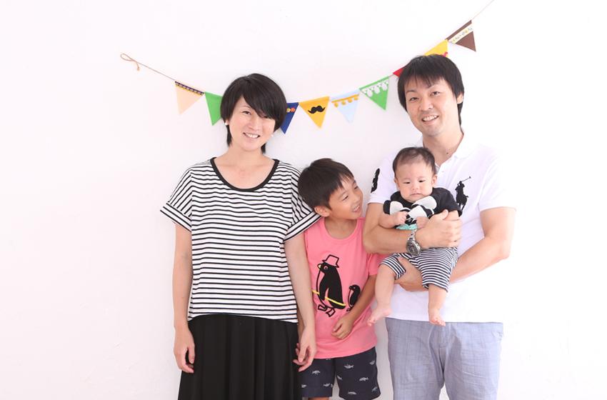 いっちゃん_4人家族