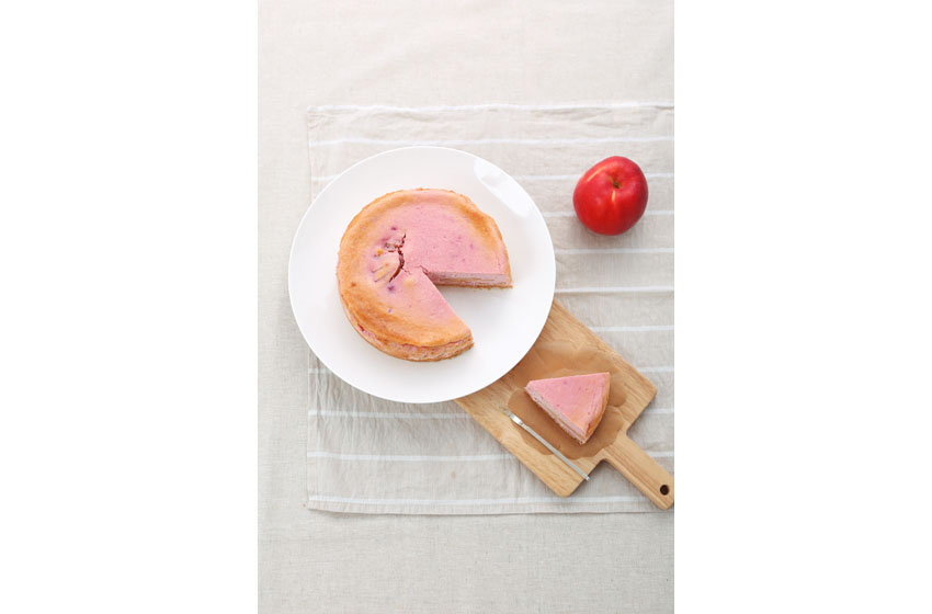 斉藤さん_リンゴケーキ