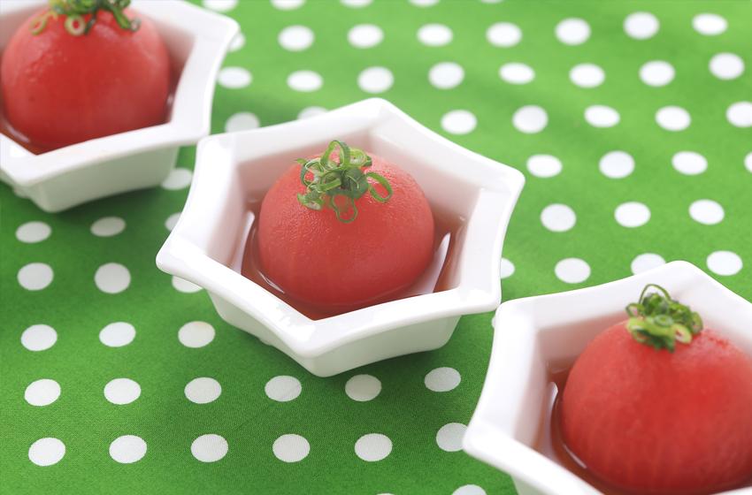 冷製トマト_3つ
