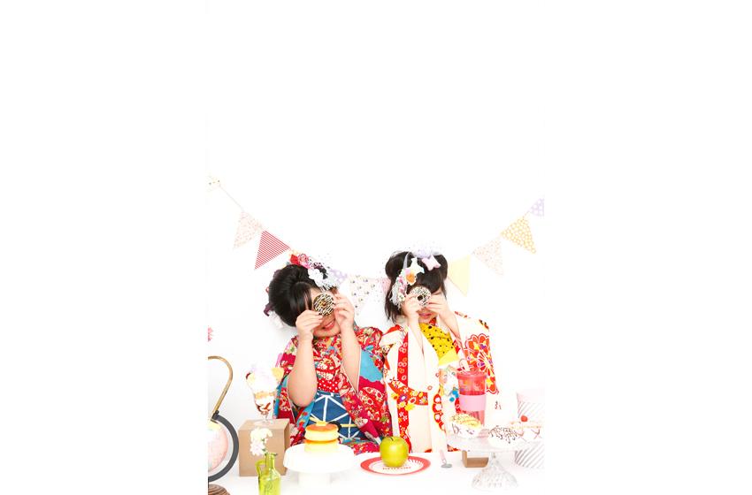 キイちゃんとユイちゃん_ドーナツ